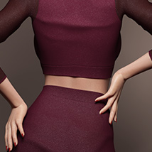VDuo Shirt and Skirt for Genesis 8 Females image 1