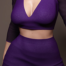 VDuo Shirt and Skirt for Genesis 8 Females image 6