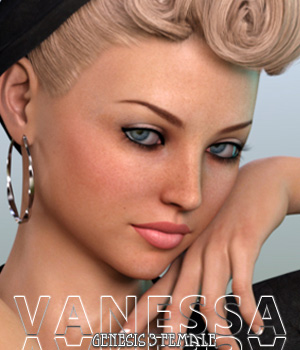 Vanessa For Genesis 3 Female 3D Figure Assets Freja