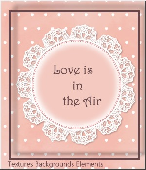 Love is in the Air- Texture and Background -Elements MR 2D Graphics Merchant Resources LUNA3D