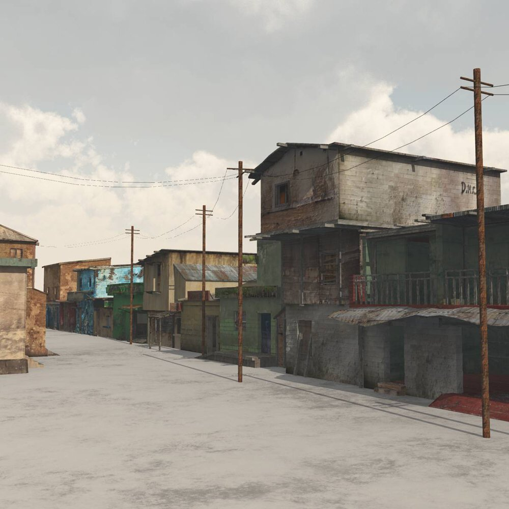 Shanty Town Buildings 2: Town Blocks - for Vue