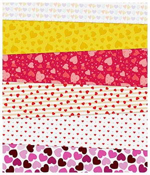 Heart Fabric Prints 2D Graphics Merchant Resources Medeina