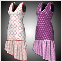 Claire Dress for Project Evolution - Poser image 5