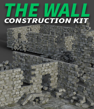 The Wall for DS Iray 3D Models powerage