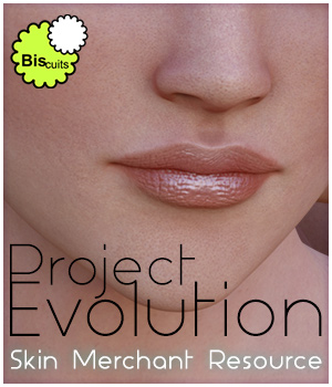 Biscuits Project Evolution PE Skin Merchant Resource by Biscuits
