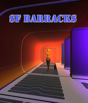 SF Barracks 3D Models 1971s