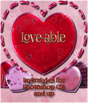Love-able Styles 2D Graphics antje