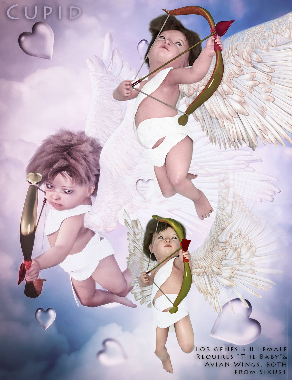 Cupid for Sixus1s Genesis 8 Baby by sixus1