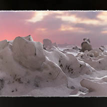 3D Scenery: Frozen Snow Formations image 3