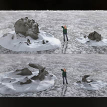 3D Scenery: Frozen Snow Formations image 5