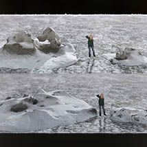 3D Scenery: Frozen Snow Formations image 6