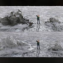 3D Scenery: Frozen Snow Formations image 7