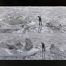 3D Scenery: Frozen Snow Formations image 8