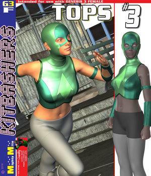 MMKBG3F Tops 003 3D Figure Assets MightyMite