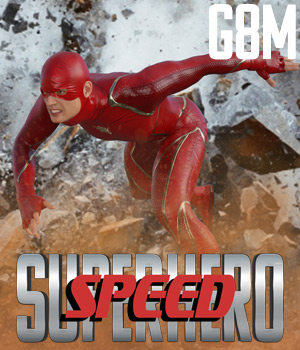 SuperHero Speed for G8M Volume 1 3D Figure Assets GriffinFX