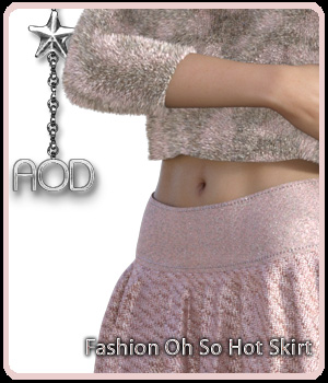 Fashion: Oh So Hot Skirt for G3 and G8 Females 3D Figure Assets ArtOfDreams