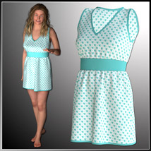 Josie Dress and 7 Styles for Project Evolution - Poser image 2