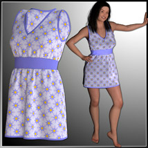 Josie Dress and 7 Styles for Project Evolution - Poser image 4
