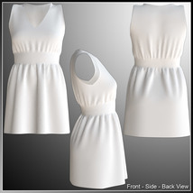 Josie Dress and 7 Styles for Project Evolution - Poser image 8