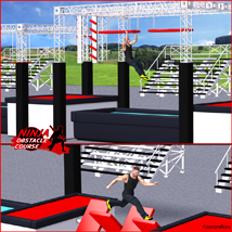 Ninja Obstacle Course image 2