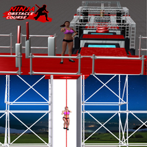 Ninja Obstacle Course image 6