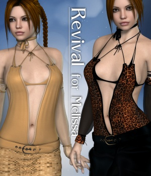 Revival for Melissa 3D Figure Assets JudibugDesigns