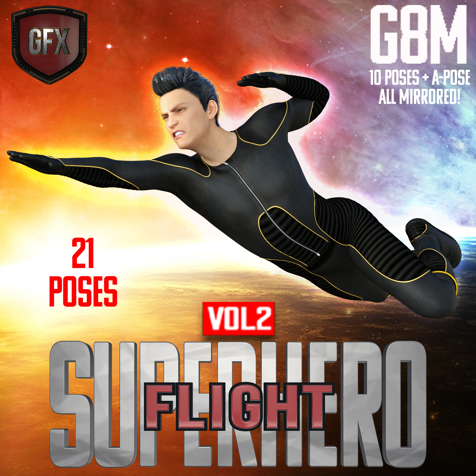 SuperHero Flight for G8M Volume 2 by GriffinFX