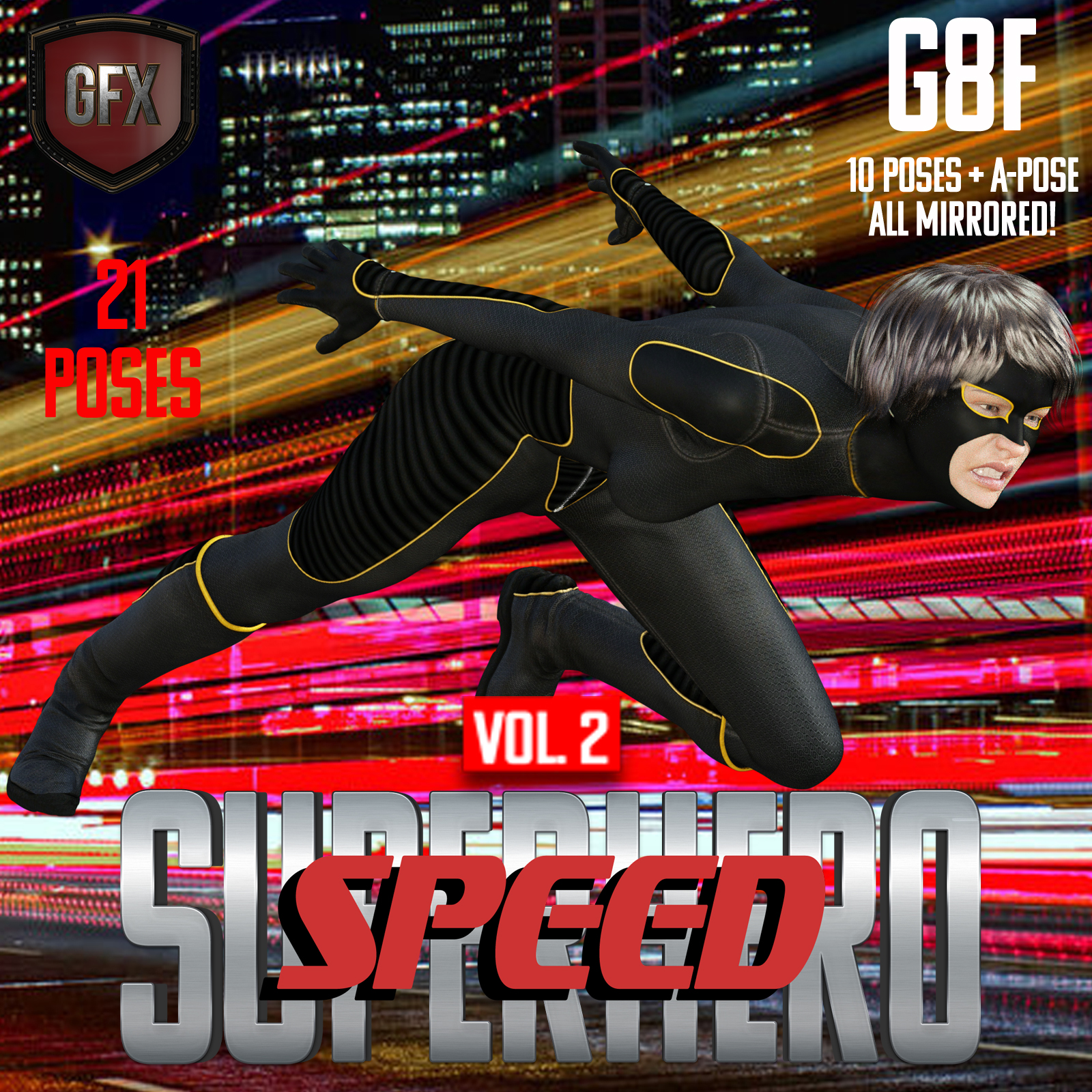 SuperHero Speed for G8F Volume 2 by GriffinFX