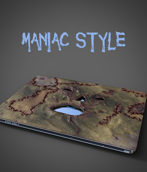 MANIAC STYLE notebook  3D Models Amiobichi