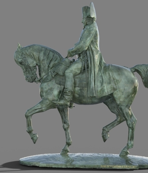 Statue of Napoleon for DS 3D Models didi30126