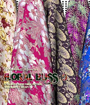 FLORAL BLISS-9 2D Graphics Merchant Resources RajRaja