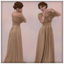 dForce - Wench Top and Dress for G8F image 1