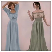 dForce - Wench Top and Dress for G8F image 2