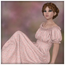 dForce - Wench Top and Dress for G8F image 4