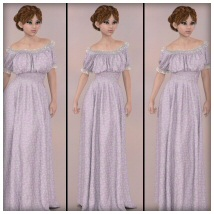 dForce - Wench Top and Dress for G8F image 6