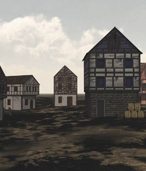 Medieval Village for Vue 3D Models VanishingPoint