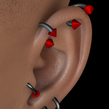Piercings - Base Pack DS image 1