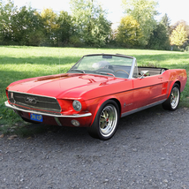FORD MUSTANG CONVERTIBLE 1967 for Vue image 3