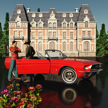 FORD MUSTANG CONVERTIBLE 1967 for Vue image 4