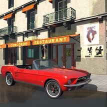 FORD MUSTANG CONVERTIBLE 1967 for Vue image 5