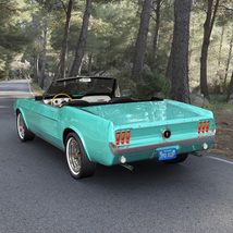FORD MUSTANG CONVERTIBLE 1967 for Vue image 6