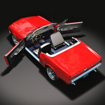 FORD MUSTANG CONVERTIBLE 1967 for Vue image 7