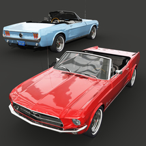 FORD MUSTANG CONVERTIBLE 1967 for Vue image 8