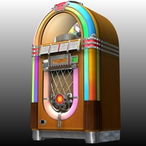 WURLITZER 1015 JUKEBOX OBJ & FBX (EXTENDED LICENSE) image 2