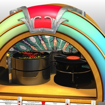 WURLITZER 1015 JUKEBOX OBJ & FBX (EXTENDED LICENSE) image 5