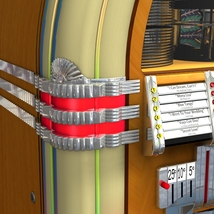 WURLITZER 1015 JUKEBOX OBJ & FBX (EXTENDED LICENSE) image 6