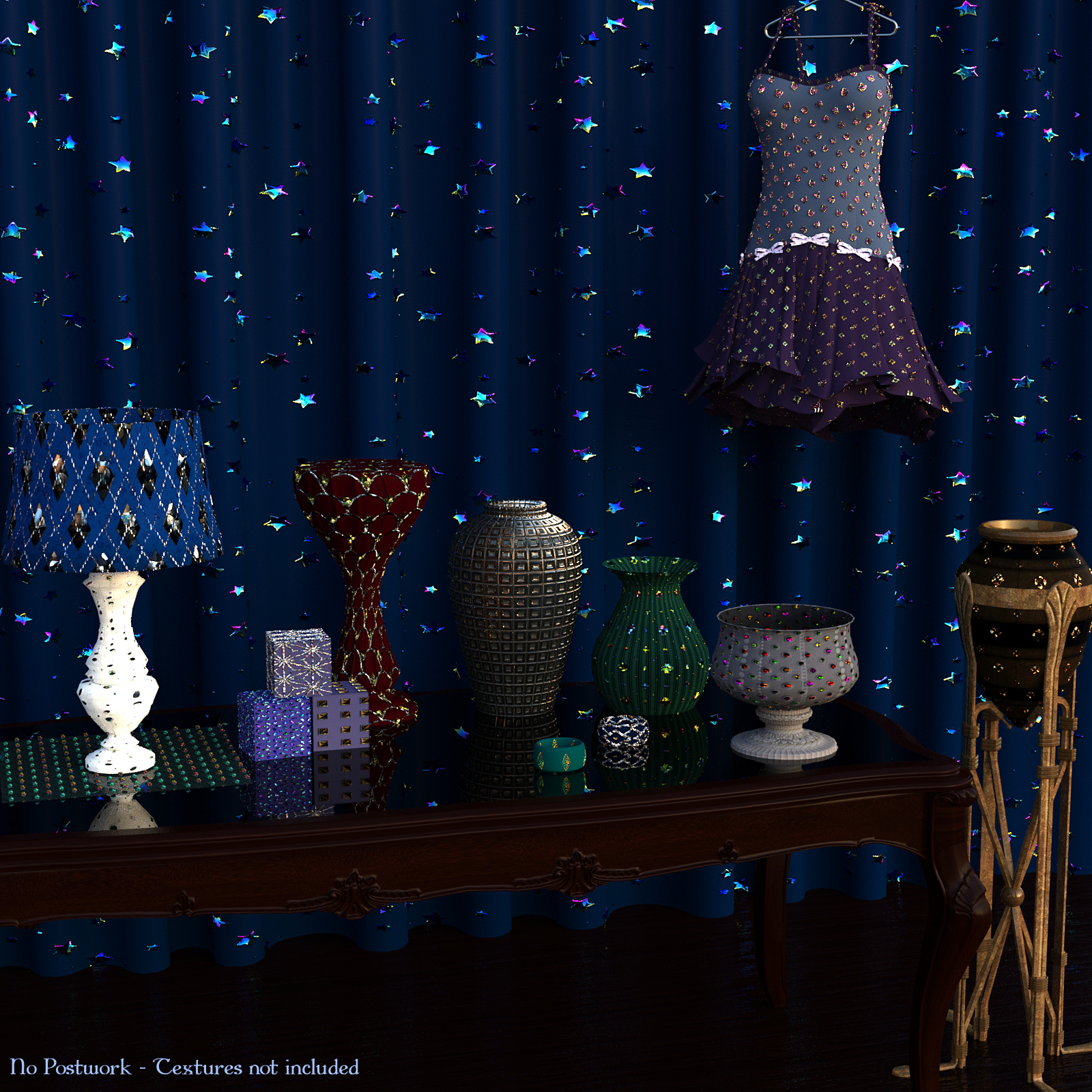 Strass it ! Vol2 - Shaders for DAZ -