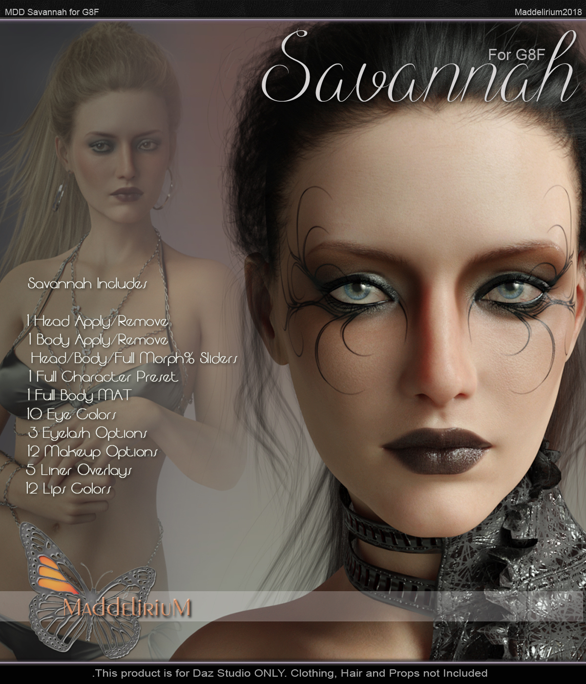 MDD Savannah for G8F