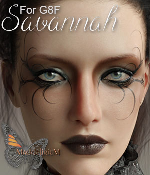 MDD Savannah for G8F 3D Figure Assets Maddelirium