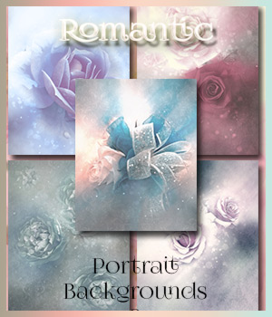 Romantic Portrait Backgrounds 2 2D Graphics antje